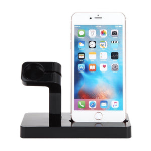 Charging Station Watch Charger Dock Holder Stand For iWatch iPhone 6 6S 7 7 Plus - ISLAND63