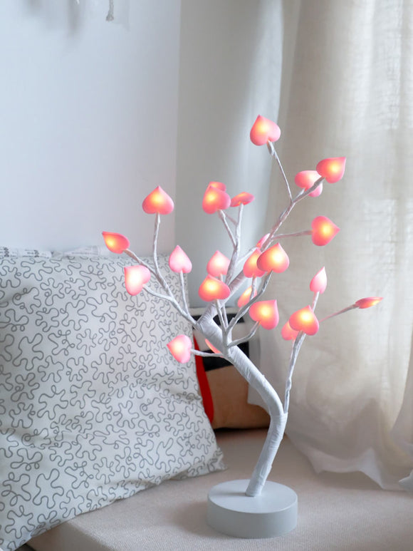 Heart Bulb Tree Table Lamp - ISLAND63
