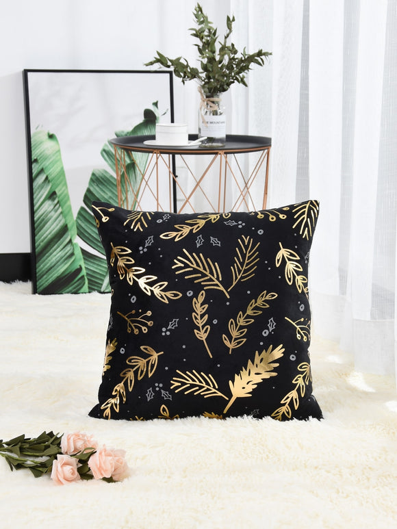 Leaf Overlay Cushion Cover - ISLAND63