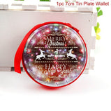 Christmas Tin Plate Coin Purse Headset Case - ISLAND63