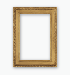 Gilded Gold Frame Photo Booth Prop. Free Shipping With Every Order