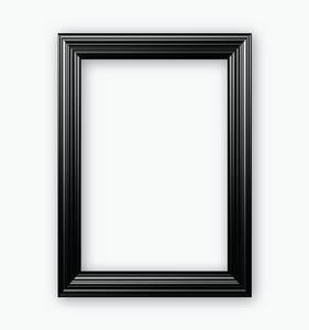 Jet Black Frame Photo Booth Prop. Free Shipping With Every Order