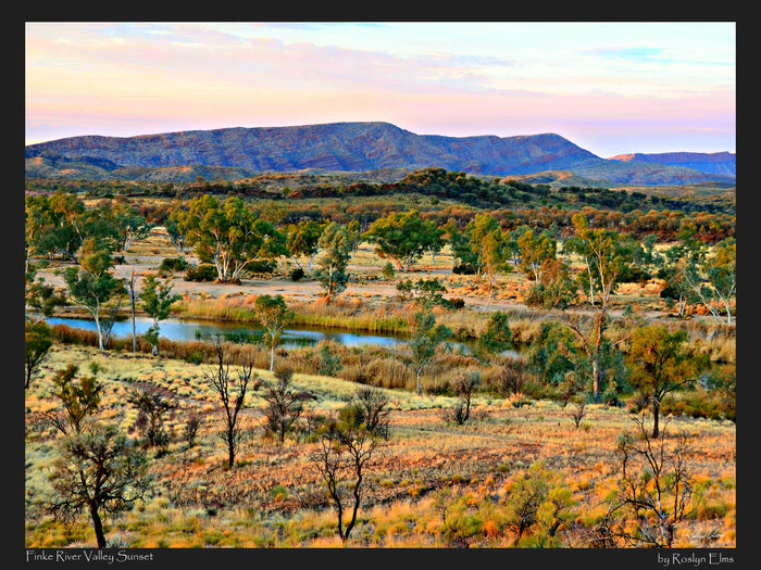Finke River Valley 1000 Piece Jigsaw Puzzle
