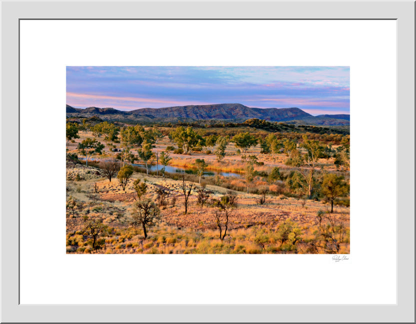 Finke River Valley Sunset - Landscapes