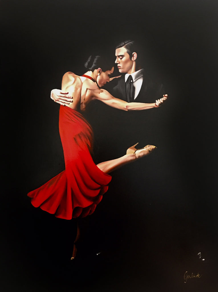 Spanish Dancers  -  Original Painting