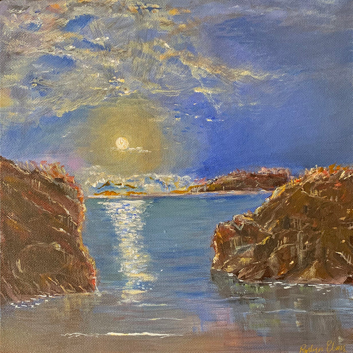 'Moonlight Over the Reef'  -  Original Painting