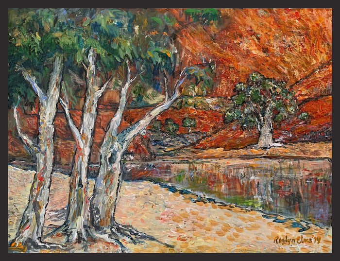 'Ormiston Gorge'  -  Original Painting
