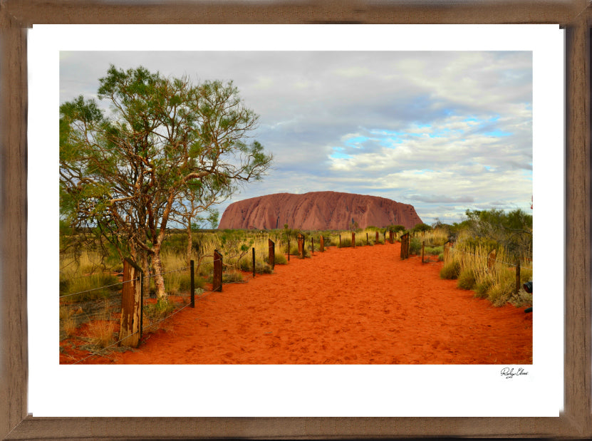 Road to Uluru - Landscapes