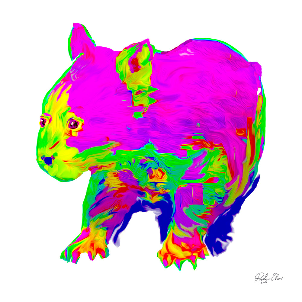Little Wombat - Digital Art
