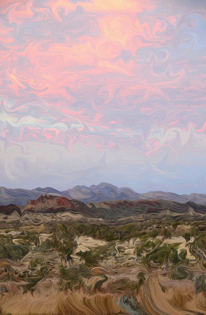 Finke River Valley (Canvas) - Open Edition