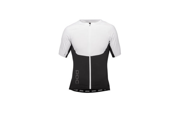 Raceday XC Zip Tee Hydrogen White/Uranium Black MED - Wide Open Vault