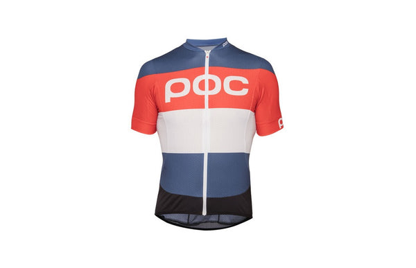 Essential Road Logo Jersey Prismane Multi Red MED