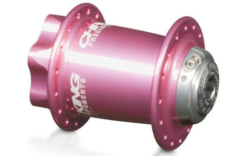 CK ISO LD Front Hub - 32H - Pink