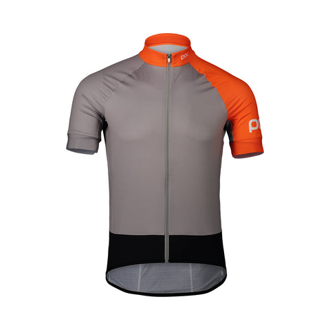 Sample - Essential Road Jersey - Granite Grey/Zink Orange - MEDIUM
