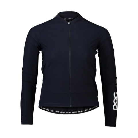 Sample - Essential Road Women's Longsleeve Jersey - Navy Black - MEDIUM