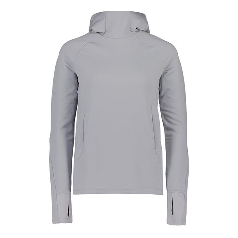 Sample - Women's Merino Hood - Alloy Grey - Medium
