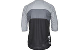 Essential Enduro 3/4 Jersey - Francium Multi Grey