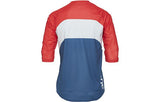 Essential Enduro 3/4 Jersey - Prismane Multi Red