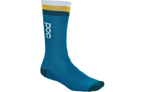 EX-DISPLAY - Essential Mid Length Sock - Cubane Multi Blue - Wide Open Vault