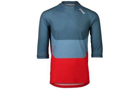 MTB Pure 3/4 Jersey - Calcite Multi Blue
