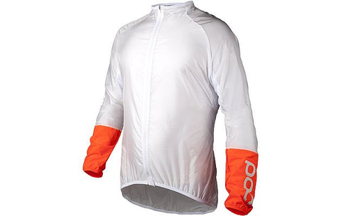 Avip Lt. Wind Jacket White/Orange - Wide Open Vault