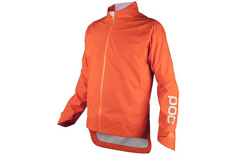 Avip Rain Jacket - Zink Orange - Wide Open Vault