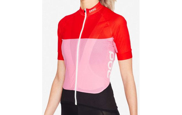 2019 Essential Wo Light SS Jersey - Red / Pink - MED - Wide Open Vault