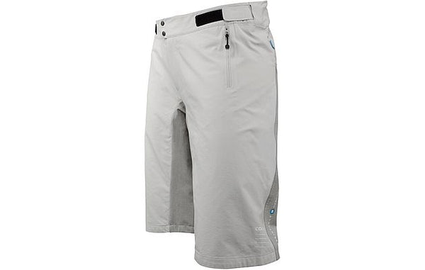 RESISTANCE MID WOMENS SHORTS- Grey - Wide Open Vault