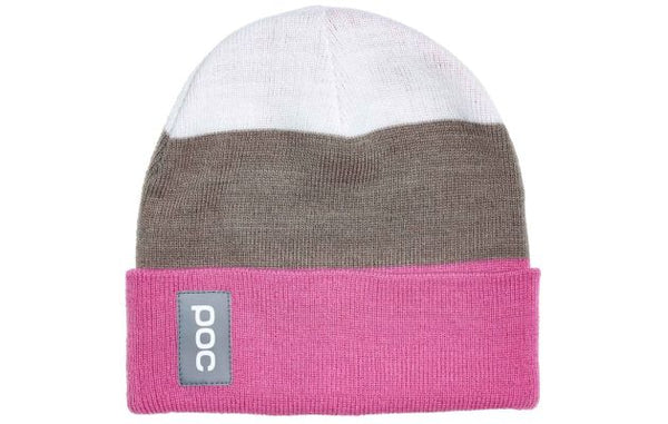 POC Stripe Beanie Actinium Multi Pink ONE - Wide Open Vault