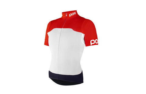 Raceday WOMENS Climber Jersey Bohrium Red/Hydrogen White - Small