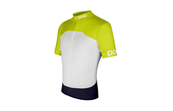 Raceday Climber Jersey Unobtanium Yellow/Hydrogen White - Large