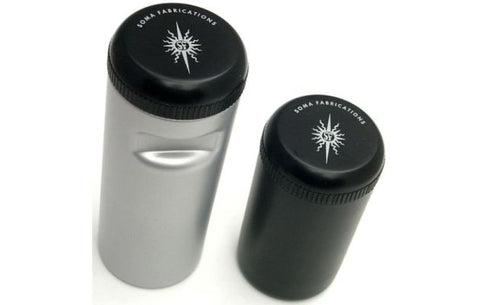 Soma Stash Bottle - Small - Silver - Wide Open Vault