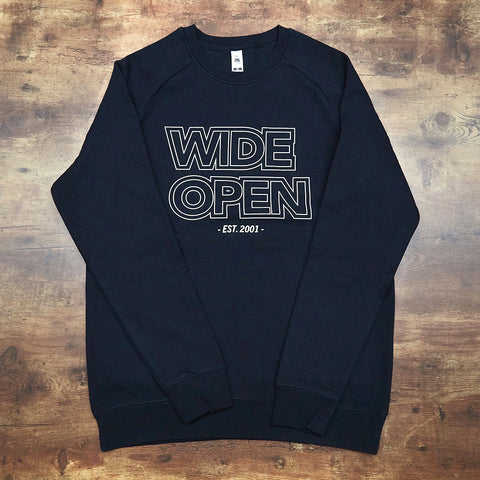 Wide Open Elite Crew Jersey -  Navy - Wide Open Vault