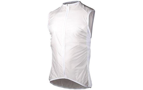 Avip Wo Lt. Wind Vest - White - Wide Open Vault