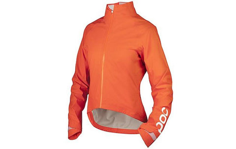 Avip Women's Rain Jacket - Zink Orange - Wide Open Vault