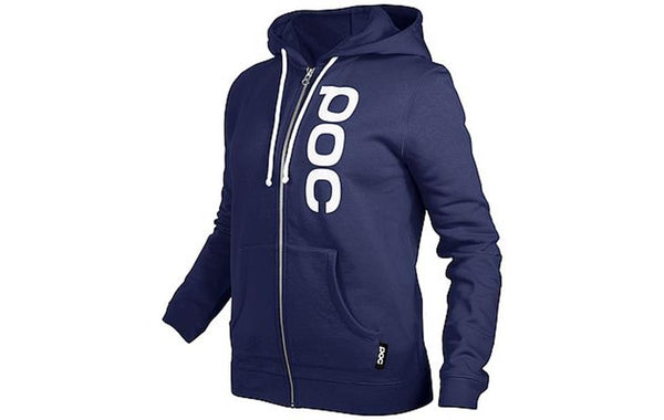 Womens Zip Hood - Dubnium Blue - XS