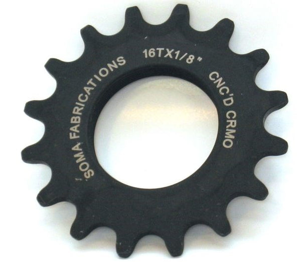 Cog 18T - 3/32 - Black - Wide Open Vault
