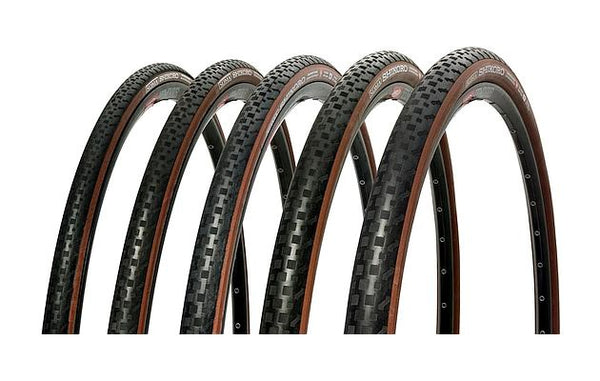 Soma Shikoro Tire 700X28C - Black/Coffee