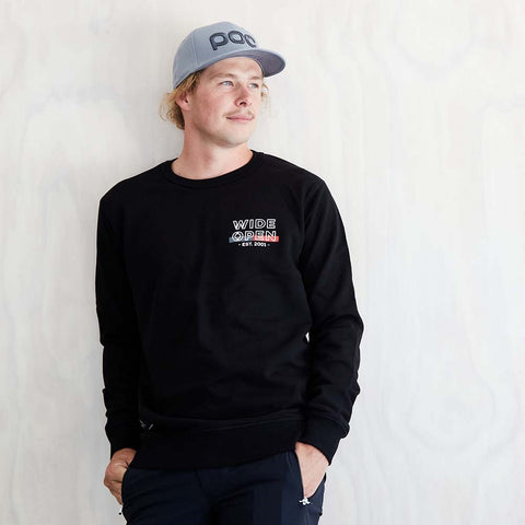 Established Premium Crew - Black