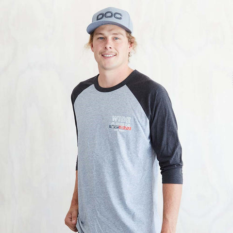 Wide Open - Established Raglan Shirt