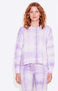 Tie Dye Terry Oversized Sweatshirt