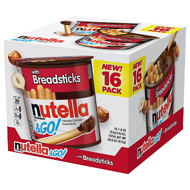 Nutella & Go (1.8 oz., 16 ct.)