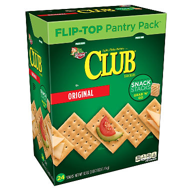 Keebler Club Crackers Snack Stacks (2.08 oz., 24 ct.)