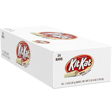 Kit Kat Wafer Bars with White Cr??me (1.5 oz., 24 pk.)