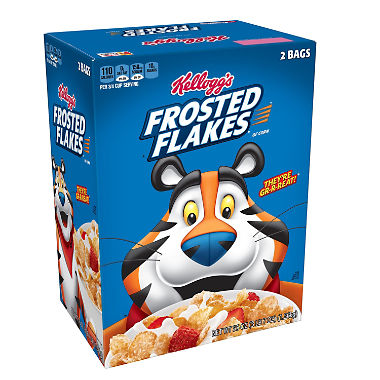 Kellogg's Frosted Flakes Cereal (55 oz.)