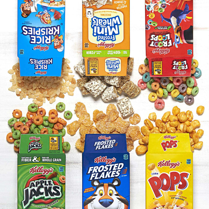 60 packs of Kellogg's Jumbo Assortment Pack (32.7 oz.) - All Inclusive Wholesale Price