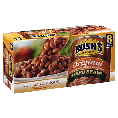 Bush's Original Baked Beans (16.5 oz, 8 ct.)