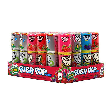 Push Pop Candy Assorted Flavors (24 ct.)