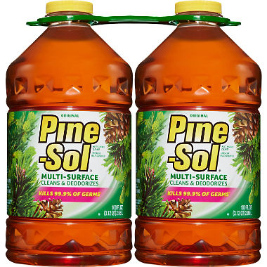 Pine-Sol Multi-Surface Cleaner, Pine Scent, 2 pk., 100 oz. Bottles