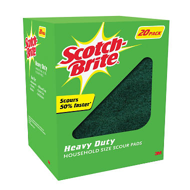 Scotch-Brite Heavy Duty Scour Pads (20ct.)